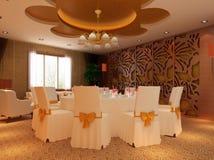 moderne Gaststätte 3d Stockfotografie