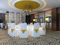 moderne Gaststätte 3d Stockfotos