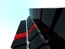 Moderne Gebäude Stockfotografie