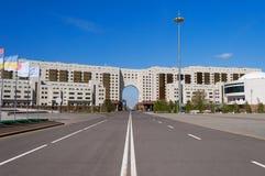 Moderne Gebäude in Astana Kazakhsatan Lizenzfreie Stockfotos