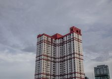 Moderne Gebäude in Bangkok, Thailand stockbild