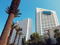 Moderne Gebäude in Casablanca, Marokko Stockfotografie
