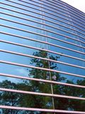 Moderne Gebäude-Fassade lizenzfreie stockbilder