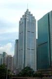 Moderne Gebäude in Shenzhen, China Lizenzfreies Stockbild