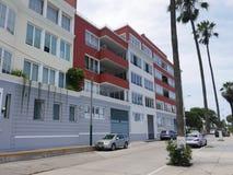 Moderne Gebäude in Souza-Allee in Barranco, Lima Stockbilder