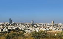 Moderne Gebäude und Marksteine Amman-Skyline Stockbild