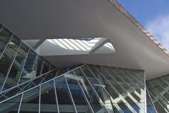 Moderne Gebäudeauslegung Stockbild
