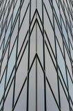 Moderne Gebäudebeschaffenheit Stockbild