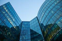 Moderne Gebäudecollage Lizenzfreie Stockbilder