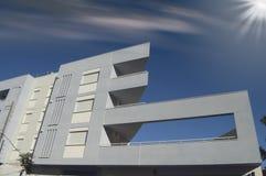 Moderne Gebäudefassade Lizenzfreies Stockbild