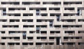 Moderne Gebäudefassade Stockfoto