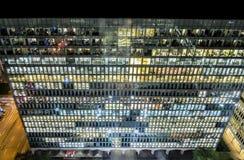 Moderne Gebäudefenster Stockbild