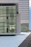 Moderne Gebäudeperspektive stockfotografie