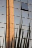 Moderne gebouwen 0 van bezinningen Stock Afbeelding