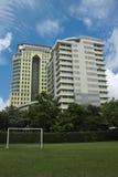 Moderne gebouwen. Stock Foto