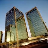 Moderne gebouwen Royalty-vrije Stock Foto's