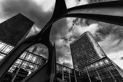Moderne gebouwen Royalty-vrije Stock Fotografie