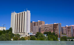 Moderne gebouwen stock foto