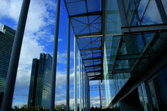 Moderne gebouwen Royalty-vrije Stock Afbeeldingen