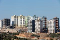 Moderne gebouwen in aanbouw Royalty-vrije Stock Fotografie