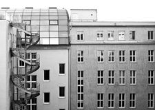 Moderne gebouwen in Berlijn Stock Afbeeldingen