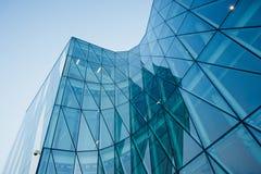 Moderne gebouwen in Hellerup, Kopenhagen Stock Foto's