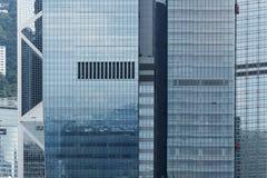 Moderne Gebouwen in Hongkong stock foto