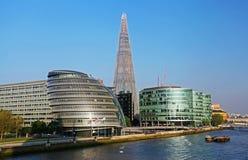 Moderne gebouwen in Londen Stock Afbeeldingen