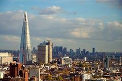 Moderne gebouwen in Londen, het UK Royalty-vrije Stock Afbeelding