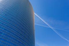 Moderne gebouwen in Milaan Royalty-vrije Stock Afbeelding