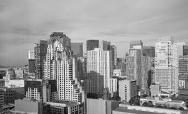 Moderne gebouwen in San Francisco Royalty-vrije Stock Foto's