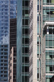 Moderne Gebouwen in San Francisco Van de binnenstad Royalty-vrije Stock Foto