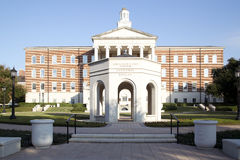 Moderne gebouwen in SMU-campus Royalty-vrije Stock Foto's