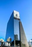 Moderne gebouwen van van het commerciële de moderne architectuur centrumclose-up Stock Afbeelding