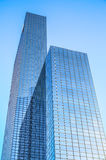 Moderne gebouwen van van het commerciële de moderne architectuur centrumclose-up Royalty-vrije Stock Afbeelding