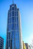 Moderne gebouwen van van het commerciële de moderne architectuur centrumclose-up Royalty-vrije Stock Foto