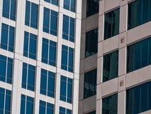 Moderne gebouwen in Voet Lauderdale Stock Foto's