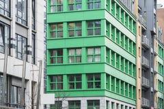 Moderne gebouwenstraat royalty-vrije stock fotografie