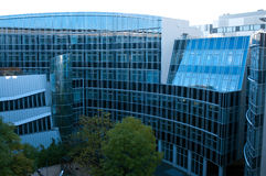 Moderne Gebäude in Berlin Lizenzfreies Stockfoto