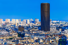 Moderne Gebäude und historische Gebäude von Paris Lizenzfreies Stockbild
