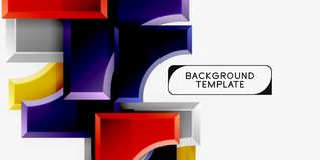Moderne geometrische abstracte achtergrond royalty-vrije stock foto