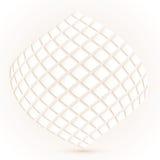 Moderne geometrische Beschaffenheit in den weißen Hintergründen Lizenzfreies Stockbild