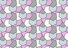Moderne geometrische Beschaffenheit Wiederholen der süßen Zusammenfassung des Hexagons Farb Stockbild