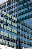 Moderne Geschäfts-Auslegung-Mitte Stockbild