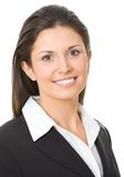 Moderne Geschäftsfrau stockfotos