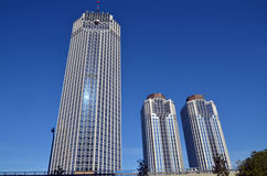 Moderne Geschäftsgebäude Stockfotografie