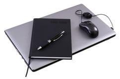 Moderne Geschäftsausrüstung Stockfoto