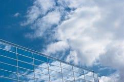 Moderne glas de bouwvoorzijde Royalty-vrije Stock Afbeelding