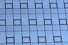 Moderne glas Fassade stockfoto