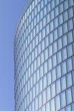 Moderne glas Fassade des Bürokontrollturms lizenzfreie stockfotos